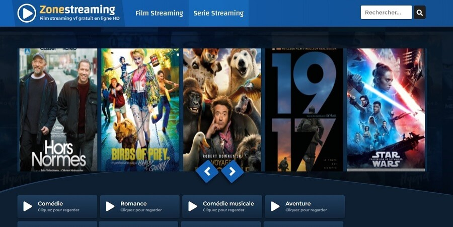 Zone Streaming : sites de streaming gratuit