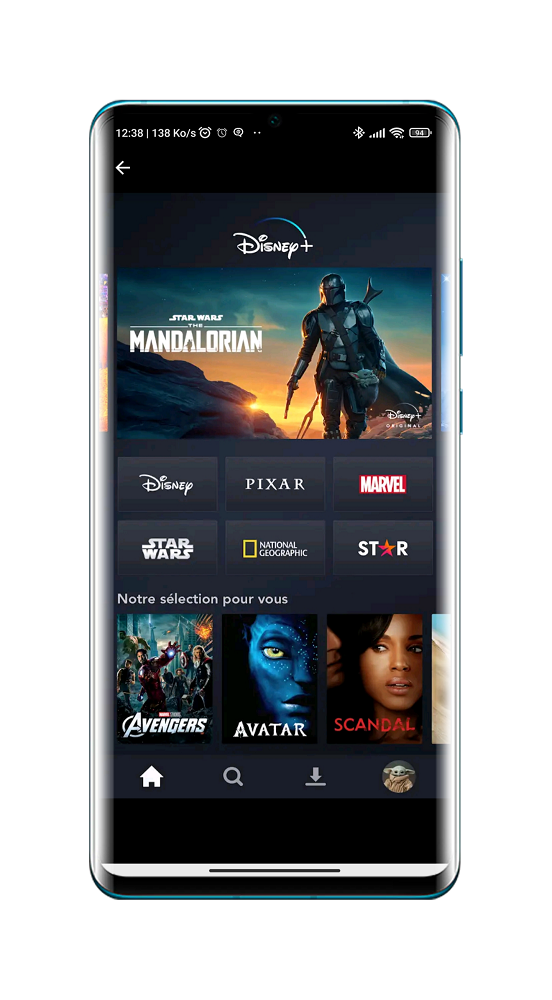 Disney Plus - Application de Streaming Android